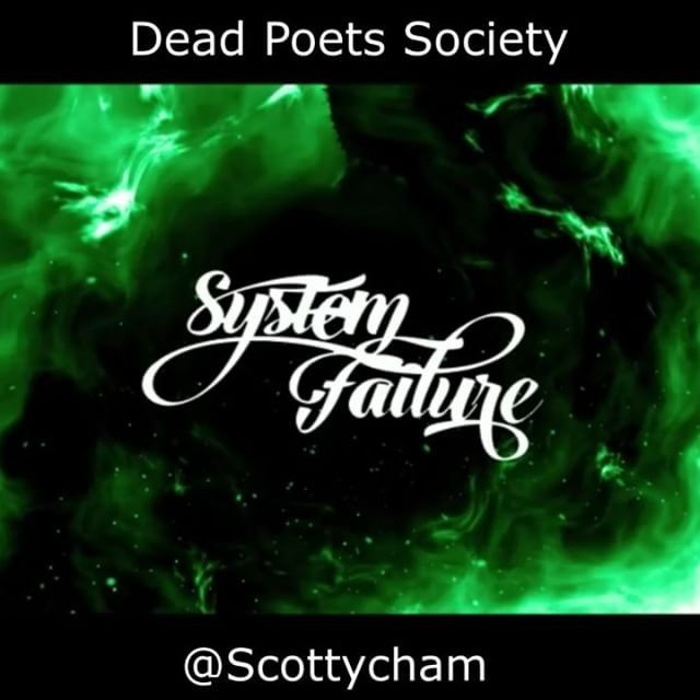 """Check the dynamic visualizer for Dead Poets Society off System Failure  Video Design: @trebennettdesigns  Hit like if you feel it  Comment """"dope"""" if you're into it  Follow  @wethe9 Follow  @wethe9 Shared via @scottycham #wethe9 #wethe9artists #wethe9music"""