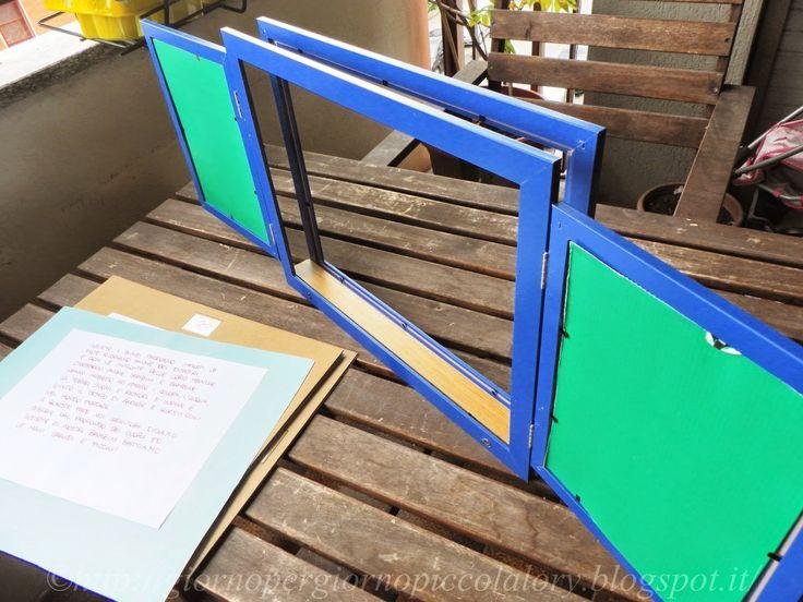Costruire un Kamishibai con le cornici