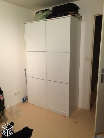 1000 ideas about armoire dressing on pinterest armoire chambre rail tiroi - Armoire dressing extensible ...