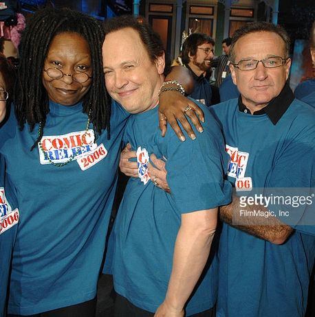 Whoopi Goldberg, Billy Crystal & Robin Williams in Comic Relief 2006. Very hot ! :D