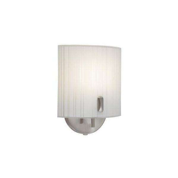 Kinkiet LAMPA ścienna NEMI 139641-457712 Markslojd szklana OPRAWA do łazienki biała