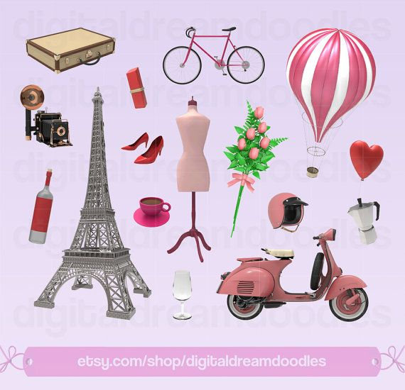 Paris Clipart Paris Clip Art Eiffel Tower Clipart France