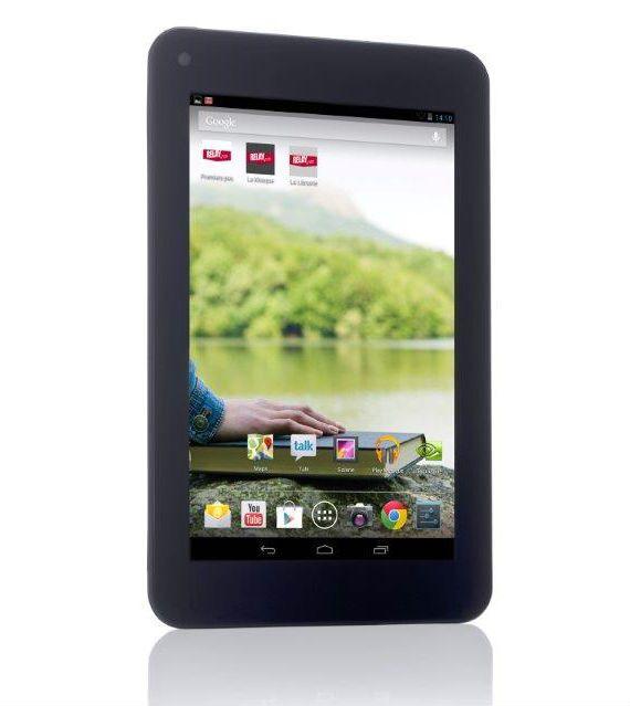 CNET : Bookeen lance sa tablette 7 pouces, en partenariat avec Relay