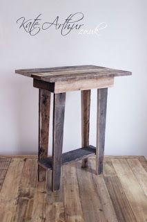 Small Basic Table Made From Pallets