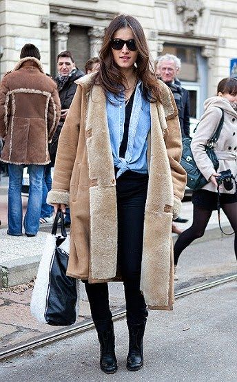 44 best Coats images on Pinterest | Winter fashion, Shearling ...