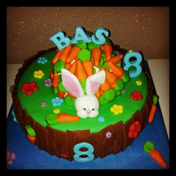 Bunny/ konijnentaart front