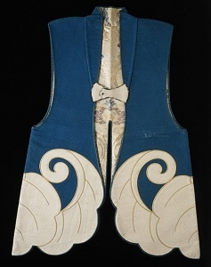 Samurai Formal Surcoat (Jinbaori) ,18th century  Institution  Los Angeles County Museum of Art