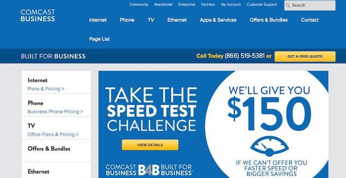 Comcast Business Sign Up - Business.Comcast.com   Business ...