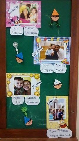 Meninas,  Ontem a Mábile Quirino (Poá-SP) me enviou a foto de um painel que tem no Berçário de sua ala:      A ideia é colar no painel uma ...