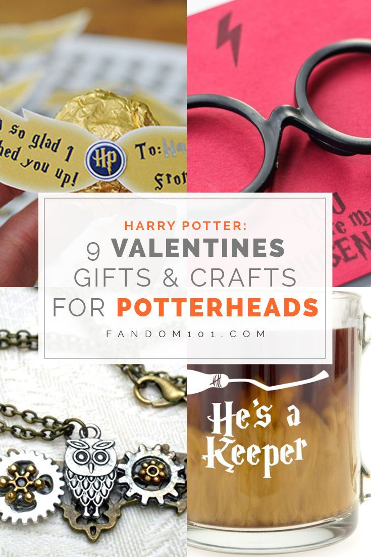 Harry Potter - 9 Valentines Gifts and Crafts for Potterheads