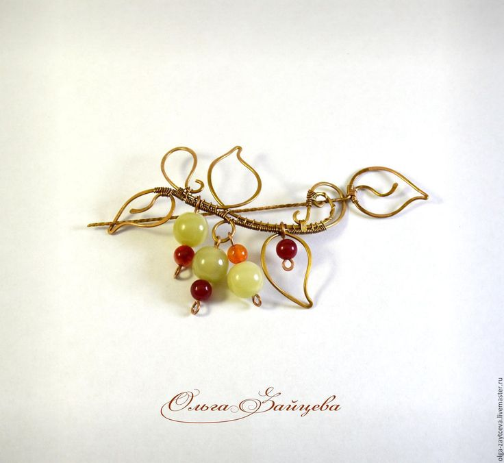 48 best about brooch images on Pinterest   Wire wrapped jewelry ...