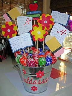 Gift Bucket for a my student teacher!