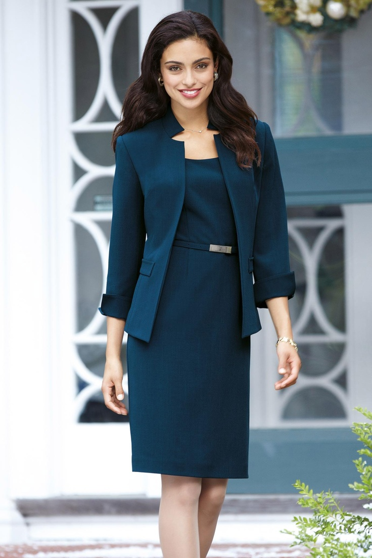 Laura Jeffries Belted Jacketdress