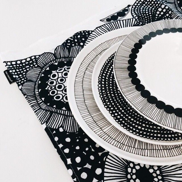 #Marimekko #dinnerware is timeless and chic, perfect for any table setting! Available at https://www.spotitbuyit.com/dashboard/posts/5546634569702d2a32132900