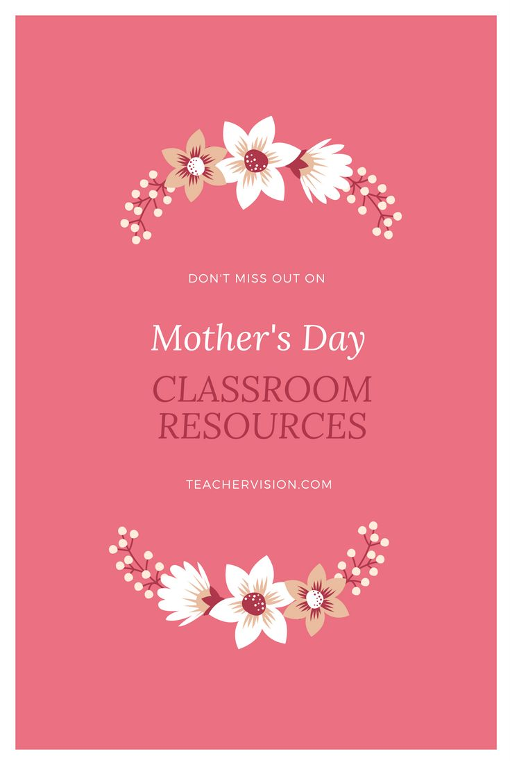 Get fun Mother's Day activities and printables! There's a coupon book, language arts activities, history lessons, word scrambles and more at TeacherVision.com.