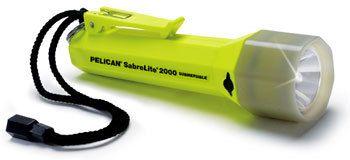 Pelican SabreLite 2000 Photoluminescent Dive Flashlight