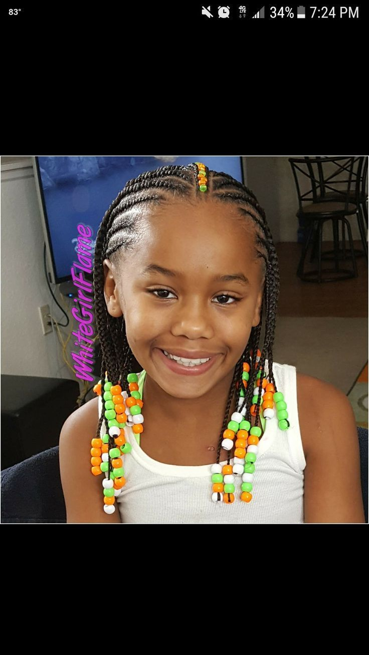 30 Best Box Braids Images On Pinterest Child Hairstyles