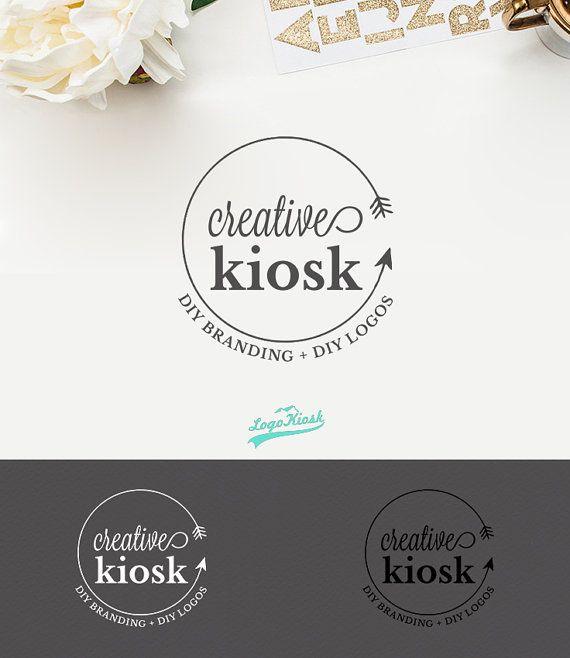 Boho Arrow Logo Design. PSD Instant Download. di CreativeKiosk