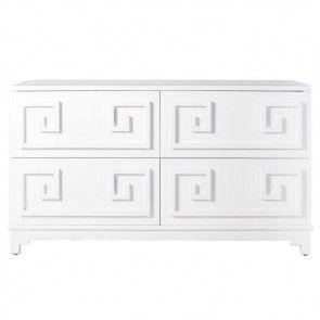 Kelly Greek Key Lacquer Dresser