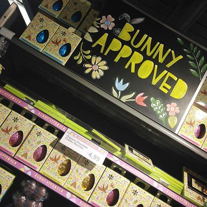Stock up on your Bunny Approved #Easter Eggs from @Whole Foods Market  in the #RegentStreetQuadrant.
