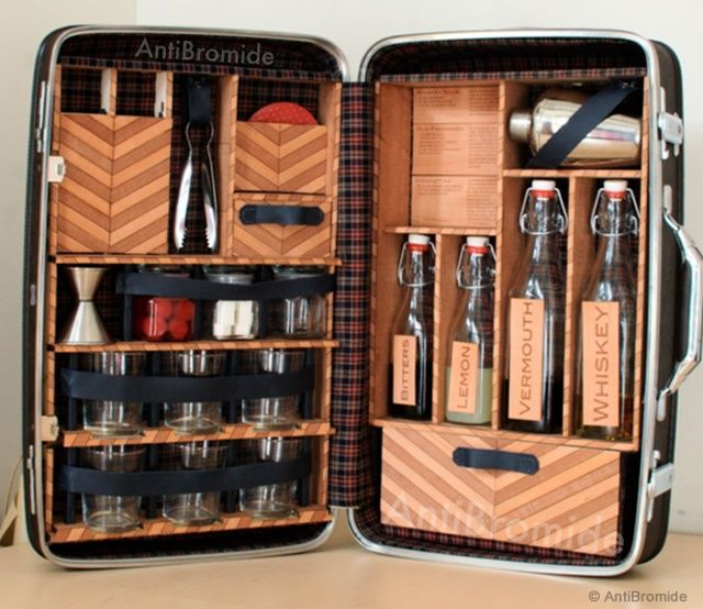 Travel Bar by AntiBromide: WANT!