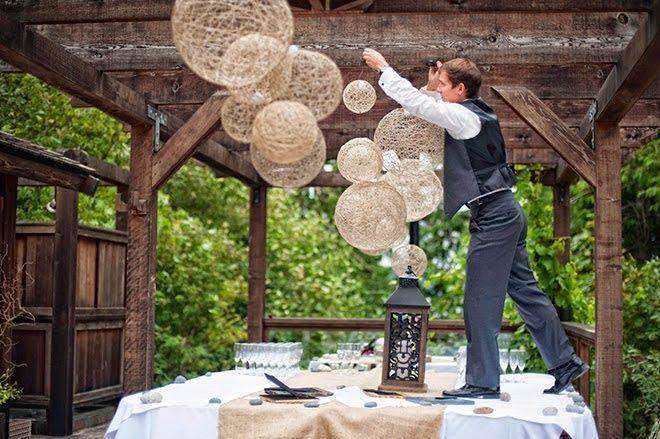 Missão Casamento Bom, Bonito e Barato!: DECORAÇÃO RUSTICA