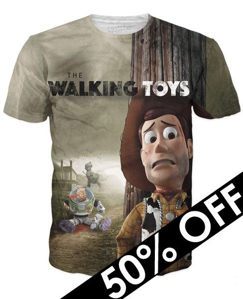 If they werent scary enought before. FEAR THE WALKING TOYS  #tshirts #walkingdead
