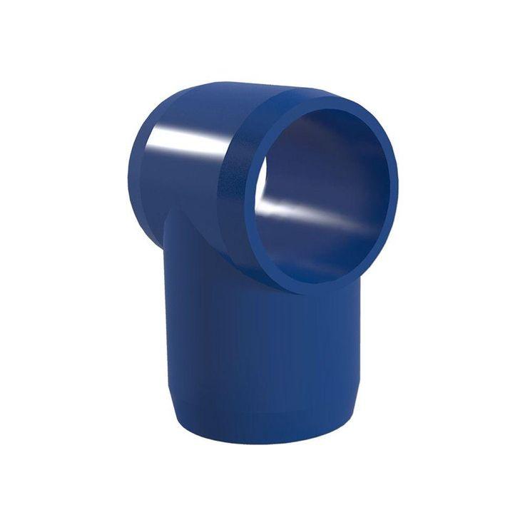 "1-1/4"" PVC Slip Tee Fitting - Furniture Grade"