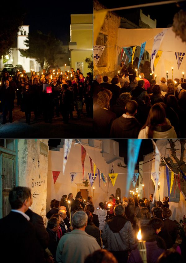 The Candle procession at the traditional settlement of Marpissa