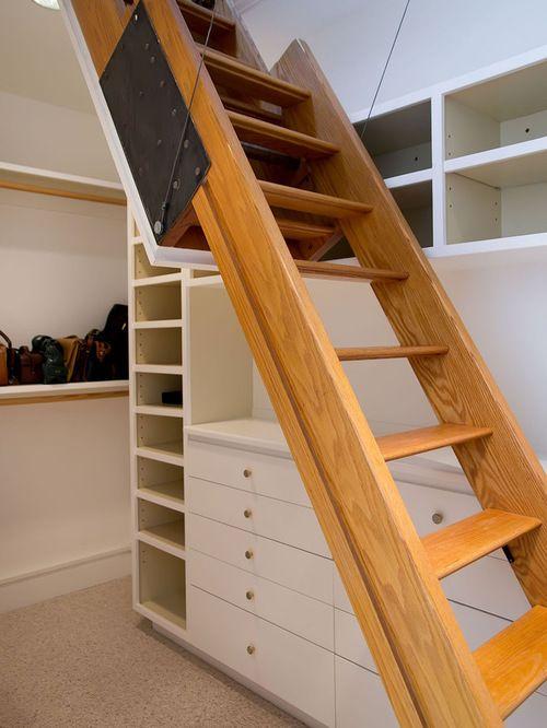 Best Elegant Attic Stairs Design Best Attic Stair Design Ideas 400 x 300