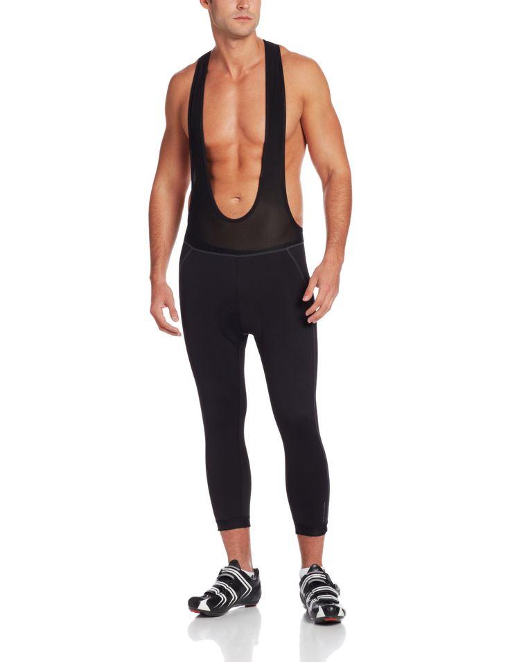 2XU Men's Thermal 3/4 Cycling Bib Shorts, Black, X-Large