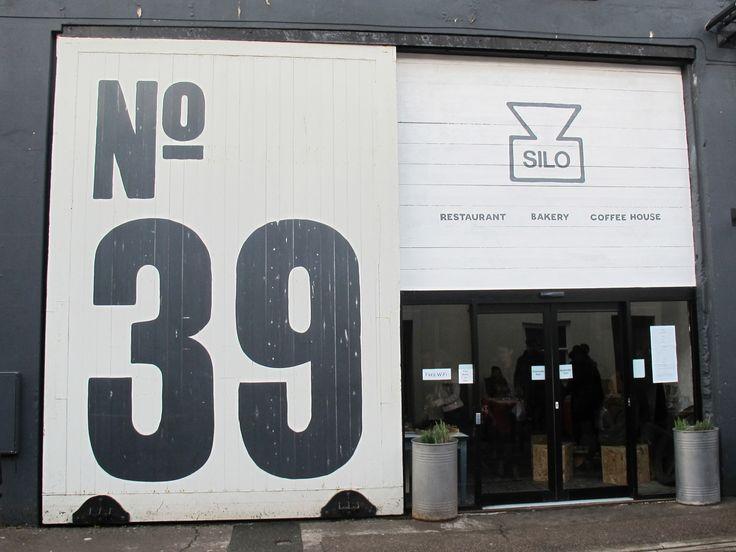 Silo in Brighton love the big typography