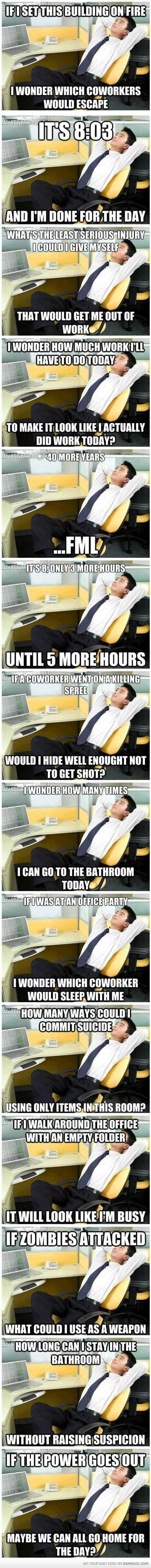 Office Thoughts