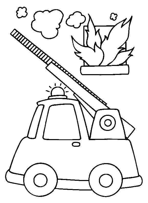 Pompiers firemen truck
