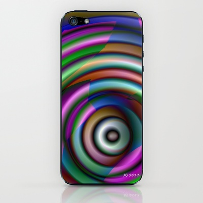 Splendor Button iPhone & iPod Skin by Johannes Beilharz - $15.00