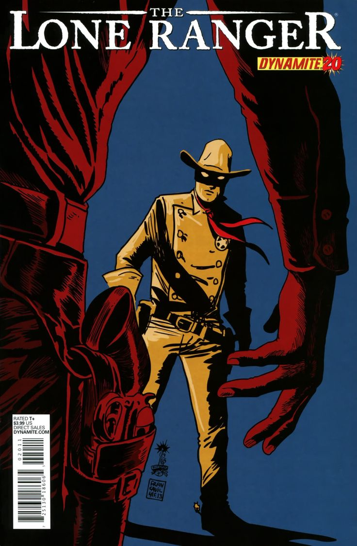 Disney lone ranger coloring pages - Comic Book Covers The Lone Ranger 20 December 2013 Cover By