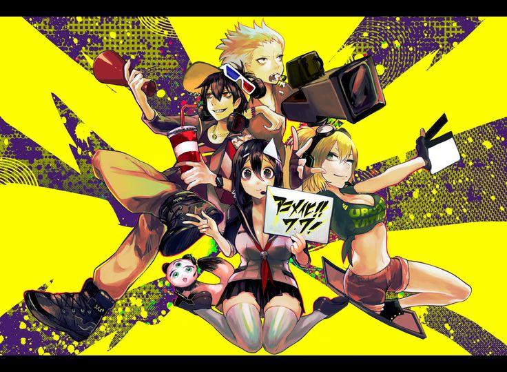 Tags: Blood Lad, Wolf (Blood Lad), Staz, Yanagi Fuyumi, Czc (Deko), Bell Hydra
