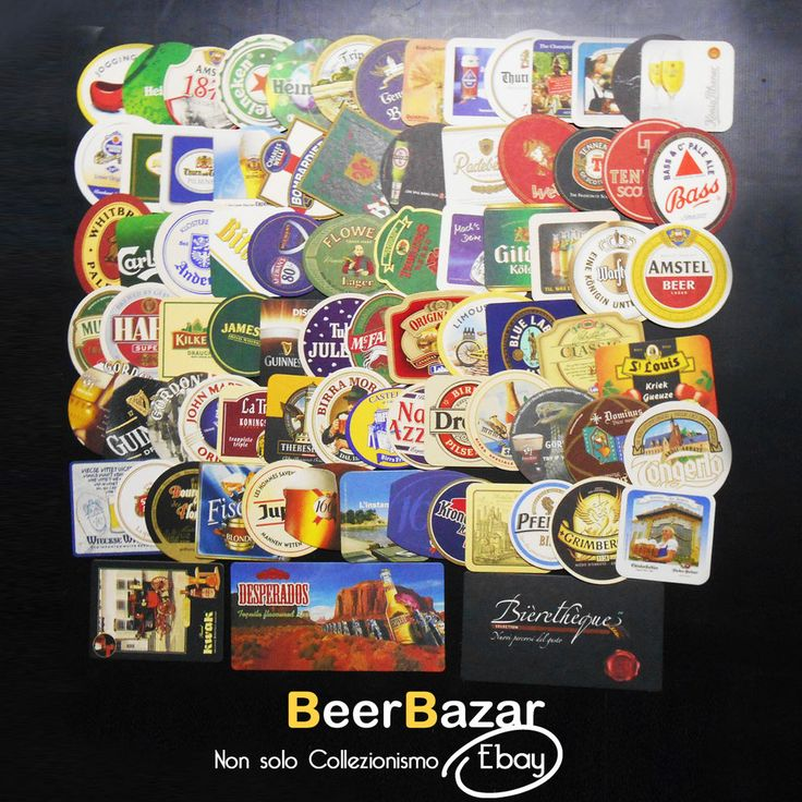 € 16,99 Kit 70 sottobicchieri Birra misti nuovi usati Desperados Amstel Kwak Bass #BC  Other article on Beerbazar Ebay: http://stores.ebay.it/beerbazar