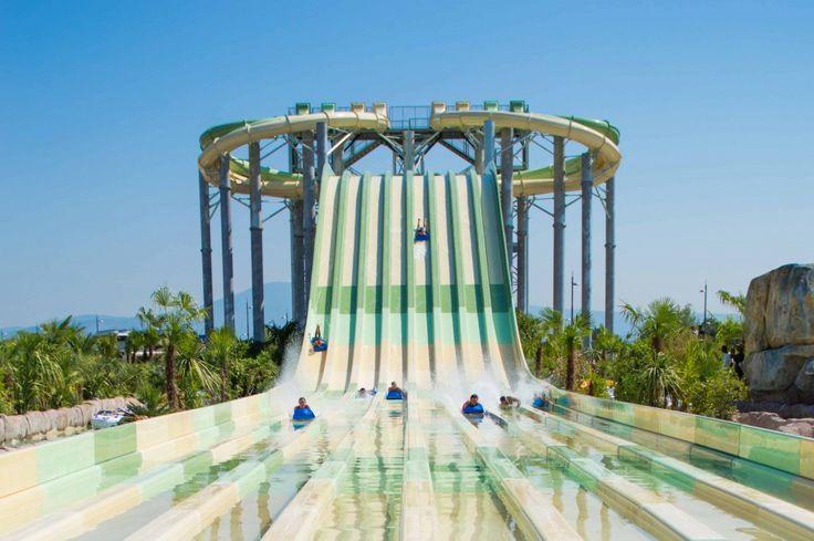 Aqualand Fréjus  le plus grand parc aquatique de la Côte du0027Azur - Camping Le Touquet Avec Piscine Couverte