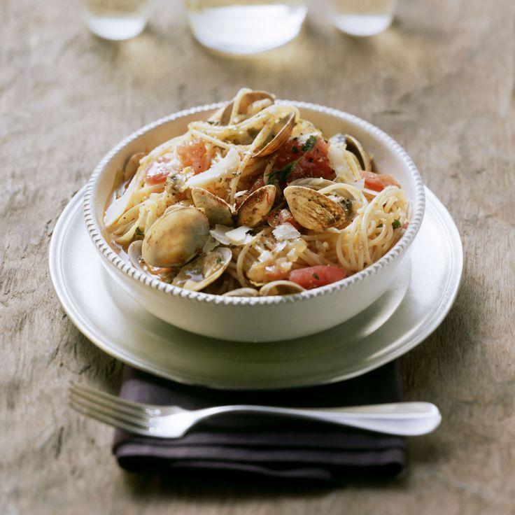 Espaguetis a la marinera   Receta en TELVA.com