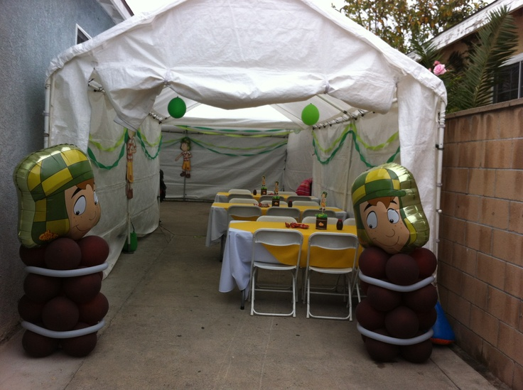 El chavo birthday party theme!