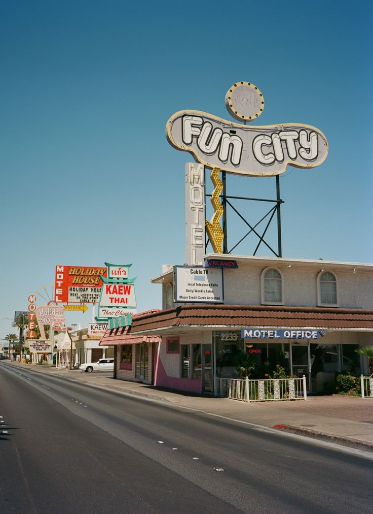Fun City Motel in Las Vegas,  formerly the Glenn Vegas Motel. It was built in the 1950s.