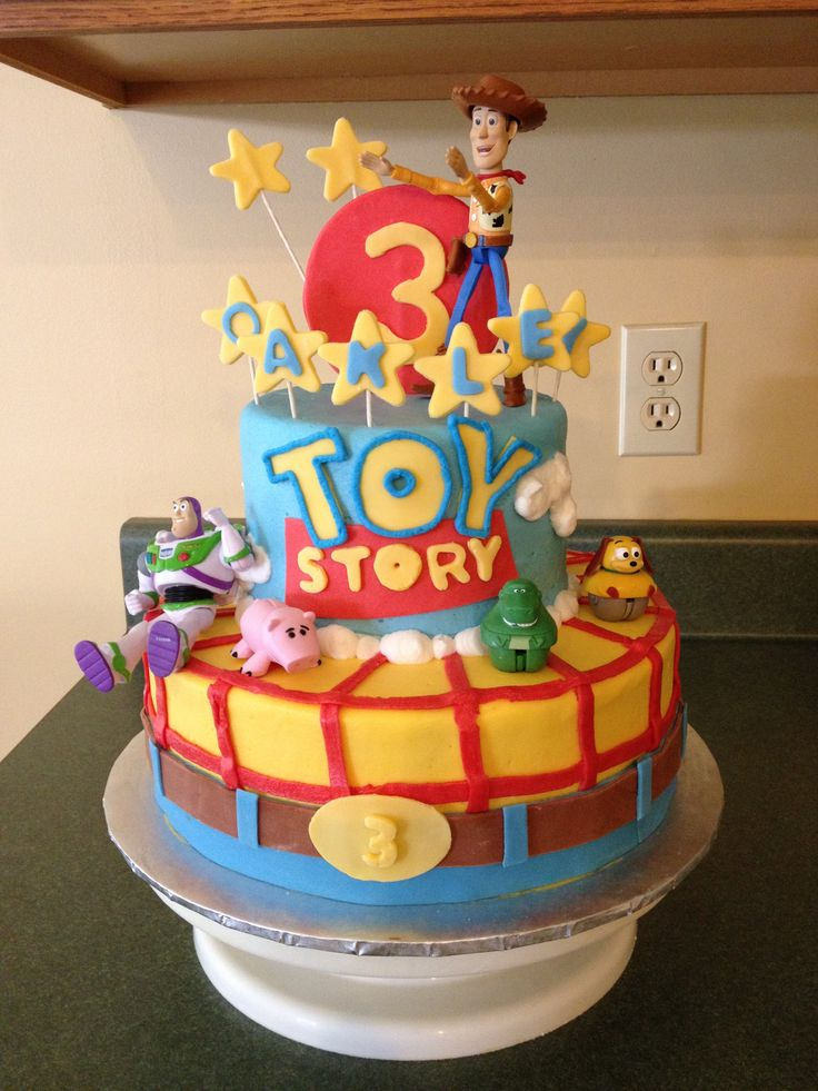 Birthday Cake Toy : Toy story birthday cake for oakley kids