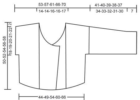 """Rätstickad DROPS kofta med virkade kanter i 2 trådar """"Alpaca"""". Stl S-XXL ~ DROPS Design"""