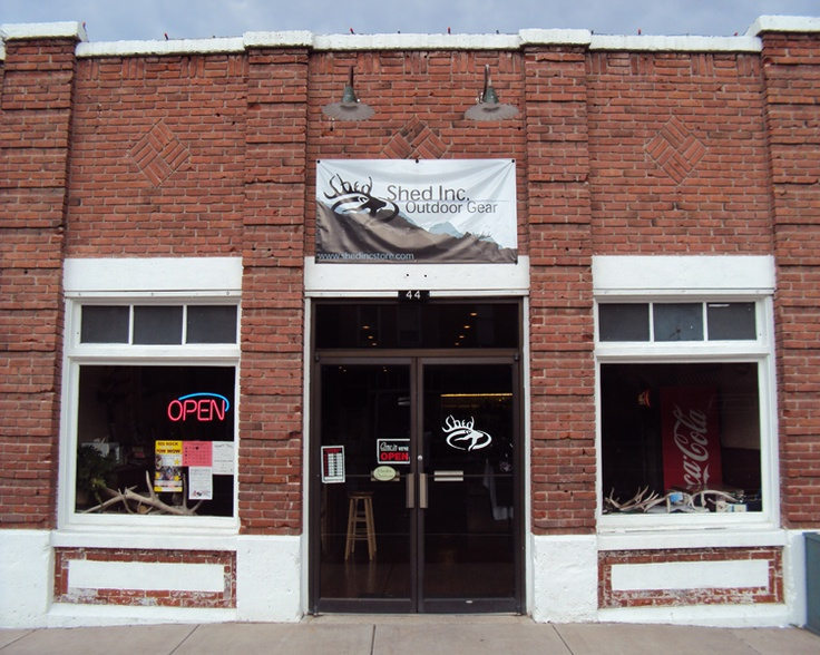 Our store front in Panguitch Utah. Panguitch, Hot air