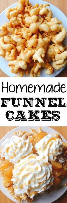 An easy, homemade funnel cake recipe. Just like the funnel cake from the state fair only better!