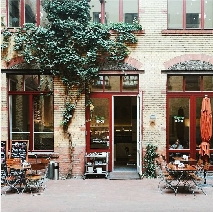 Best A Berlin institution hidden in a beautiful quiet courtyard near Hackesher Markt Great place to take the urents for breakfast or Kaffee u Kuchen