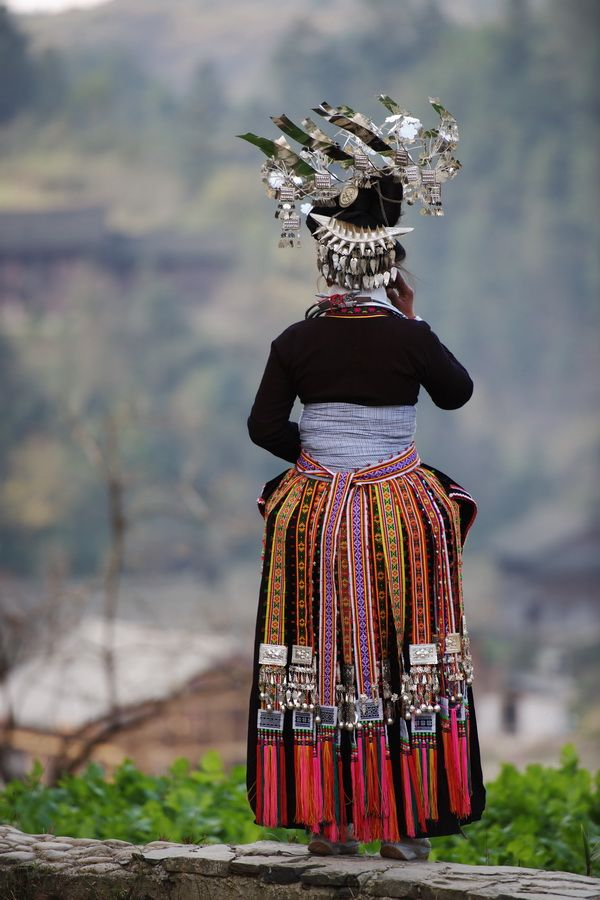 China's Miao ethnic minority artisans. 'Miao' doesn't specify one ethnic group; it's a term China uses to classify the nine million non-Han Chinese living in various agrarian tribes across the southwest. Miao culture and textiles are quite diverse across villages in Yunnan and Guizhou provinces