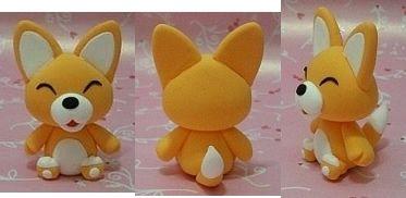Turorial : How to make a fox kawaii in polymer clay / Tutoriel : Réaliser un renard kawaii en pâte polymère Pour obtenir cette couleur, vous pouvez mélanger de la pâte orange, rouge et jaune, ou du orange et jaune dans les même proportion. Visage rond,...