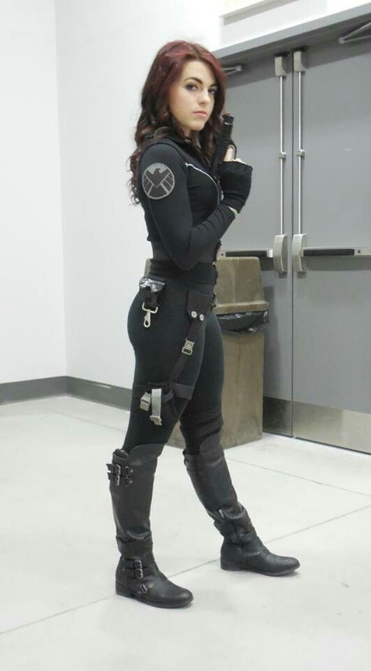 Viuda Negra (Black Widow) #Cosplays #Marvel